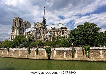 Notre Dame de Paris, París, Francia