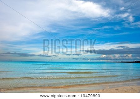 Atlantic ocean coast, Miami, FL, USA