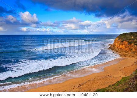 Ocean coast, Great Ocean Road, VIC, Australia