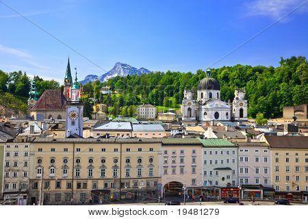 View on Salzburg, Austria