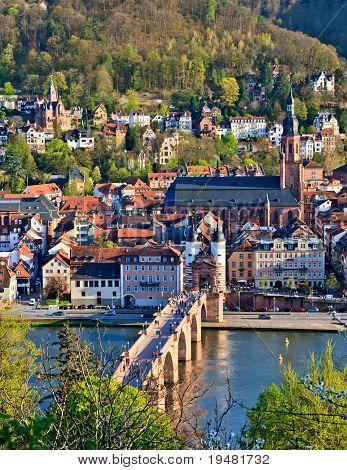 Heidelberg em Primavera, Alemanha