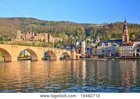 Ponte em Heidelberg, Alemanha