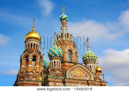 Church of the Savior on Spilled Blood, St. Petersburg, Russia