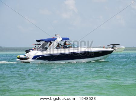 Recreational Motor Boat