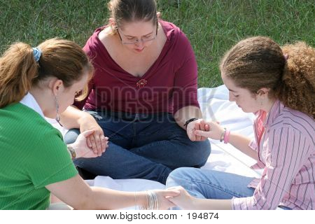 Teen Prayer Circle 1
