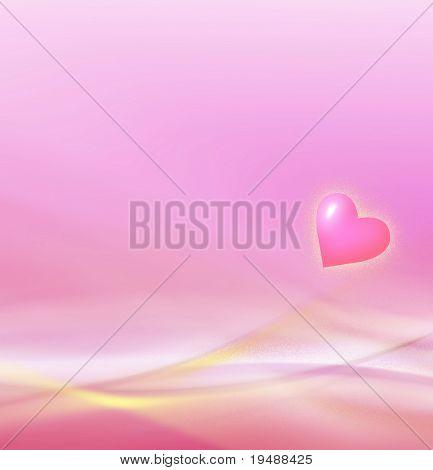 Schöne Liebe Hintergrund! Erfolgt in hellen und sanften Rosa und gelben Farben