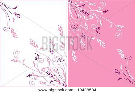 Gentle flower ornament. Vector.  Ideally for use in your design