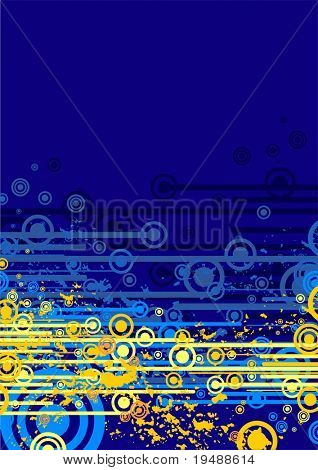vector abstract  background. Modern background for your imagination.