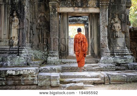 Cambodia Angkor Banteay Kdei temple