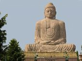 stock photo of siddhartha  - Giant Buddha  - JPG
