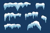 Snow Ice Icicle Set poster