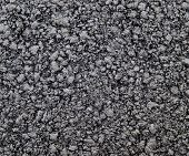 Brand new asphalt texture close up. poster