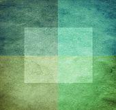 Постер, плакат: шероховатый акварель как графический абстрактный фон Грин