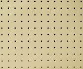 picture of pegboard  - peg board or ceiling board texture - JPG