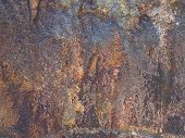 stock photo of iron ore  - raw iron ore boulder texture - JPG