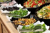 picture of buffet lunch  - Buffet style food  - JPG