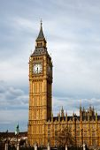 picture of big-ben  - Big Ben and Houses of Parliament - JPG