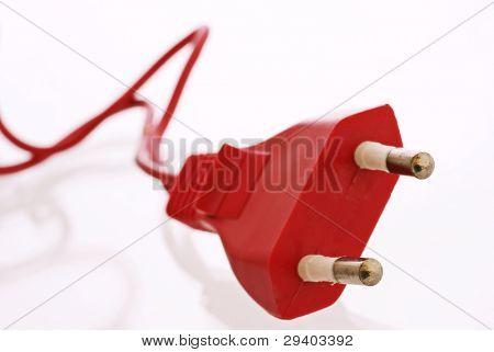 Clavija roja