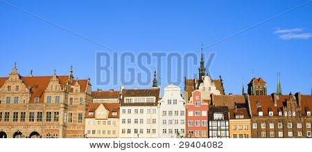 City Of Gdansk Panorama