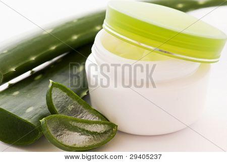 Aloe Lotion with Aloe Leaf