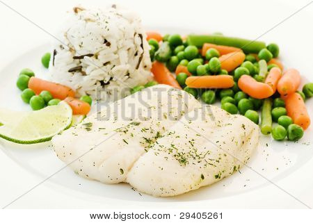 Pangasius with Vegetable