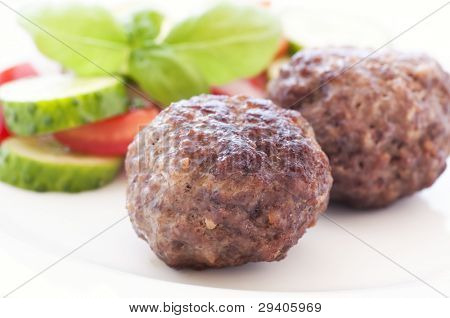 Meatballs with Vegetable