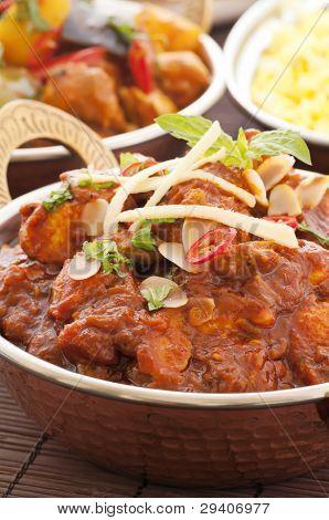 Chichen Masala with Rice