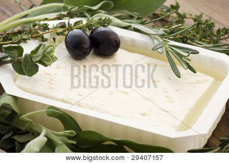 Feta with Olives