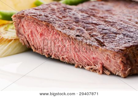 Beefsteak with Vegetable