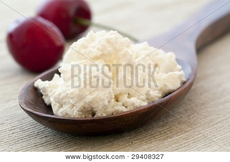 Cottage Cheese with Cherry