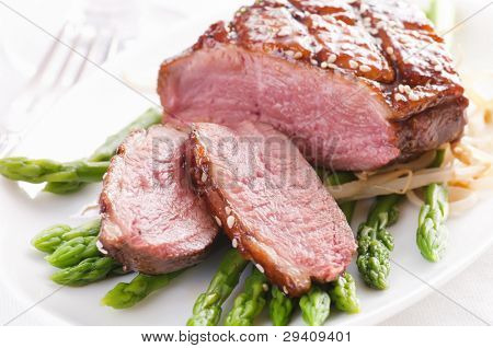 Duck breast fillet