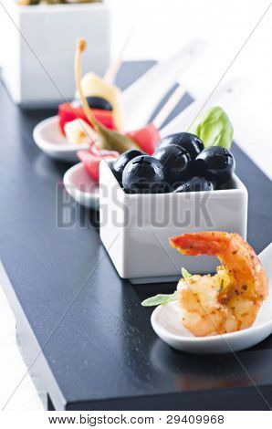 Snack bar with tapas