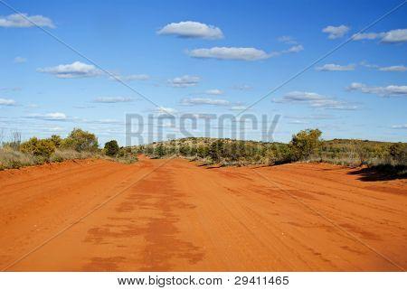 Pista de Sandy Outback