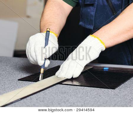 Cutting A Glass