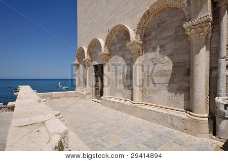 Trani Cathedral Detail