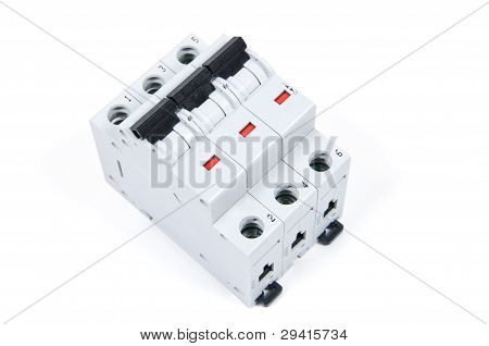 Three Phase Safety Switch In Off Position