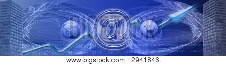 Banner Word Wide Internet And Increasing Success