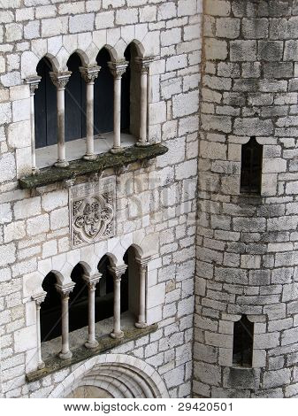 Mullioned Window And Arch