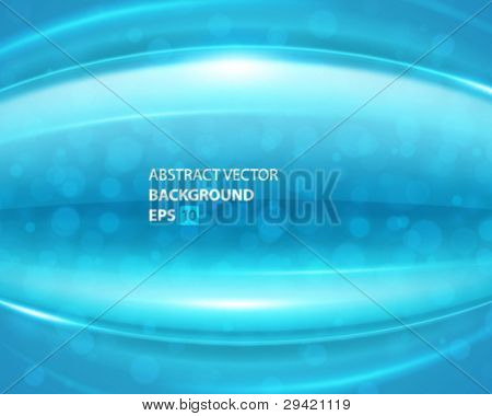 Abstract shiny glass lines and light vector background. Eps 10