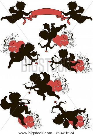 A set of cupids