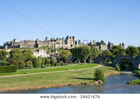 Classic View Of Carcassonne