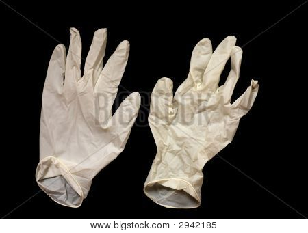 Pair Of Disposable Gloves