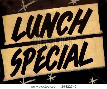 Mittagessen besondere Café
