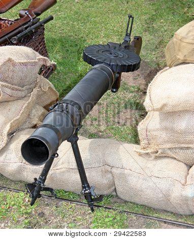 Military Machine Gun.