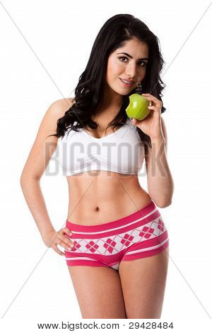 Eat An Apple To Stay Fit
