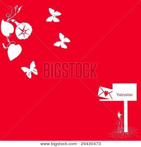 Buttterfly Valentine