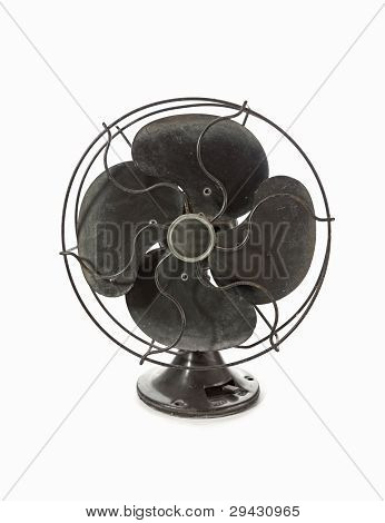 Old Vintage Metal Fan