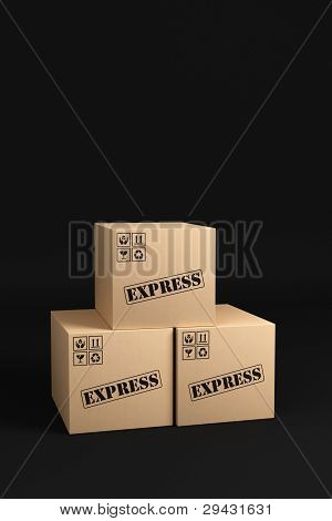 Express Shipping Boxes