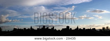 poster of City Silhouette (panorama)