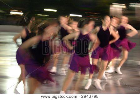 Ice Skating Motion..